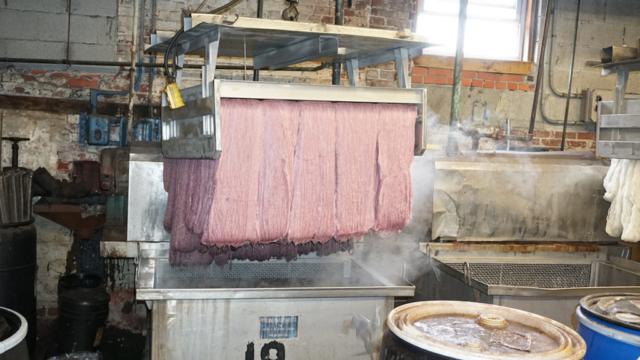 Custom Textile Dyeing
